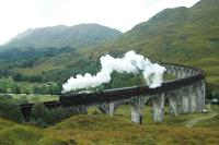 Glenfinnan, steam and rain.<br><br>[Ewan Crawford&nbsp;//]
