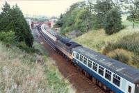 Entering Gleneagles from the south with 47 hauled Glasgow to Inverness train.<br><br>[Ewan Crawford&nbsp;//]