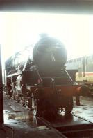 Steam engine and a mere 37 at Tom na Faire. Access by kind permission of British Rail.<br><br>[Ewan Crawford&nbsp;//]
