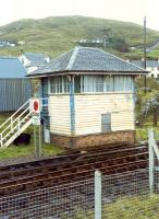 Mallaig signalbox. Reputedly with the best view from any British signalbox. Bet it was cold too. Sadly now gone.<br><br>[Ewan Crawford&nbsp;//]