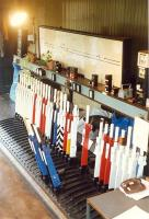 The interior of Milngavie signalbox on its second last day. Access by kind permission of British Rail.<br><br>[Ewan Crawford&nbsp;//]