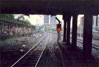 Some time later this was the signal which was passed at danger leading to the Bellgrove crash.<br><br>[Ewan Crawford&nbsp;//1987]