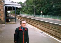 I will forever think of this chap as the stationmaster at Bearsden. He must have been driven bananas by our returning there on-peak with an off-peak ticket.<br><br>[Ewan Crawford&nbsp;//1987]