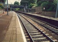 Cambuslang station looking east.<br><br>[Ewan Crawford&nbsp;//1987]