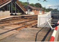 Cardross station from the level crossing.<br><br>[Ewan Crawford&nbsp;//1987]