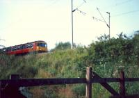 Heading east at Georgetown. No access at the time beyond this fence as it was MOD property.<br><br>[Ewan Crawford&nbsp;//1987]