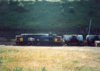 37423 heads south to Mossend with an oil train.<br><br>[Ewan Crawford&nbsp;//1987]