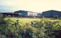 Just west of Dalmuir Riverside was the Chivas Regal bottling site. The line is lifted here now.<br><br>[Ewan Crawford&nbsp;//1987]