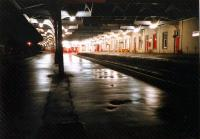 Kilmarnock, night, after the last train. Oops, how do I get home?<br><br>[Ewan Crawford&nbsp;//1987]