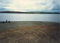 Fairlie Pier (no pier). Looking to the Great Cumbrae.<br><br>[Ewan Crawford&nbsp;//1987]
