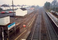 Prestonpans looking east. Since then the siding has been cutback and carpark extended.<br><br>[Ewan Crawford&nbsp;//1987]