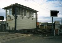 Ardrossan Harbour Box. Not long to go.<br><br>[Ewan Crawford&nbsp;//1987]