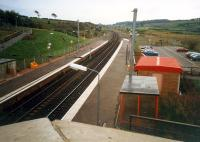 Looking south at Dalry. Dalry was a large four platform (2 islands) station on the quadruple section of line from Brownhill Junction to Dalry Junction.<br><br>[Ewan Crawford&nbsp;//1987]