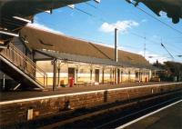 Prestwick looking to the southbound platform.<br><br>[Ewan Crawford&nbsp;//1987]