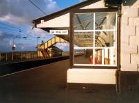 Station buildings at Prestwick looking north. What a station should look like.<br><br>[Ewan Crawford&nbsp;//1987]