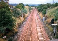 Airbles before the station was opened. A line once led off to the left.<br><br>[Ewan Crawford&nbsp;//1987]