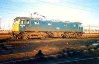 85 037 at Polmadie. Access by kind permission of British Rail.<br><br>[Ewan Crawford&nbsp;//1987]