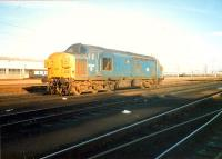 37 040 at Polmadie. Access by kind permission of British Rail.<br><br>[Ewan Crawford&nbsp;//1987]