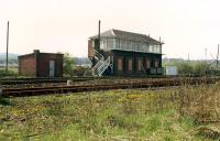 Polmaise Box, now demolished, at Polmaise Junction.<br><br>[Ewan Crawford&nbsp;//1988]