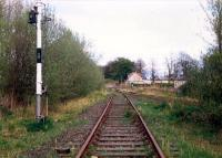 Alloa West Level Crossing seen from the former mainline. Access by kind permission of British Rail.<br><br>[Ewan Crawford&nbsp;//1988]