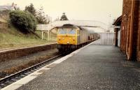 47 on southbound freight passing Maybole (New).<br><br>[Ewan Crawford&nbsp;19/03/1988]