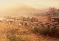 37 on northbound passenger train at Bridge of Orchy.<br><br>[Ewan Crawford&nbsp;//1988]