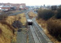 Looking to Kilmarnock along the course of the closed GPK&AR.<br><br>[Ewan Crawford&nbsp;//1988]