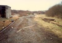 Hyndland Depot after the track had been removed from the shed. Access by kind permission of British Rail.<br><br>[Ewan Crawford&nbsp;//1988]