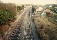 Looking east at Hartwood.<br><br>[Ewan Crawford&nbsp;//1988]