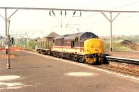 The rather short Speedlink from Crianlarich passes east through Dumbarton Central.<br><br>[Ewan Crawford&nbsp;//1990]