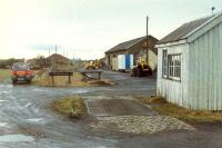 Forres goods looking west. The distant building is part of the Forres locomotive shed complex.<br><br>[Ewan Crawford&nbsp;//]