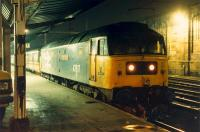 47 617 waits to leave for Glasgow at Carlisle.<br><br>[Ewan Crawford 26/11/1988]