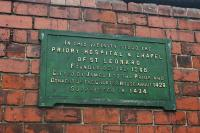 Plaque on the exterior wall of south end of Perth station.<br><br>[Ewan Crawford&nbsp;//]