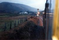 37416 approaches Achnasheen from the east at dawn.<br><br>[Ewan Crawford&nbsp;03/01/1989]