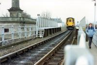 A 477 passes the closed Perth Princes Street station on its way from Glasgow to Aberdeen.<br><br>[Ewan Crawford&nbsp;//1988]