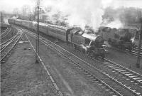 2.6.4T 42275 leaving Busby for East Kilbride. 1951.<br><br>[G H Robin collection by courtesy of the Mitchell Library, Glasgow&nbsp;25/12/1951]