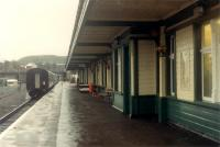 Platform 1 at Kyle looking to Inverness.<br><br>[Ewan Crawford&nbsp;03/01/1989]