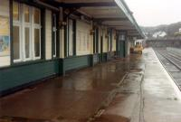 Platform 2 at Kyle looking to Inverness.<br><br>[Ewan Crawford&nbsp;03/01/1989]