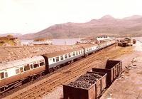 A View of Kyle of Lochalsh from August 1982.<br><br>[John Gray&nbsp;/08/1982]