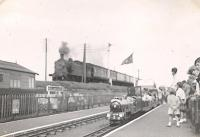 NB 4.4.2T 67489 passing Kerrs Miniature Railway on Arbroath - Dundee local in July 1953. <br><br>[G H Robin collection by courtesy of the Mitchell Library, Glasgow&nbsp;18/07/1953]