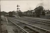 G.N.S.R. 4.4.0 62227 at Elgin (L.N.E.).<br><br>[G H Robin collection by courtesy of the Mitchell Library, Glasgow&nbsp;04/07/1950]
