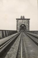 Looking north. S.L.S. Visit to Forth Bridge.<br><br>[G H Robin collection by courtesy of the Mitchell Library, Glasgow&nbsp;25/06/1950]