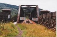 Northern approach to Creagan Viaduct in 1997.<br><br>[John Gray&nbsp;//1997]