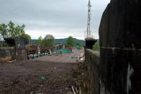 The old NBR bridge over the Forth in Stirling is being repaired. The view looks north.<br><br>[Ewan Crawford&nbsp;12/05/2006]