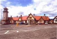 Exterior view of Wemyss Bay in 1985.<br><br>[Unknown&nbsp;//1985]