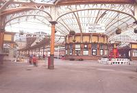 Main concourse Wemyss Bay 1985.<br><br>[John Gray&nbsp;//]