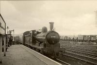 Darlington train arriving at Penrith. NER 0.6.0 65047.<br><br>[G H Robin collection by courtesy of the Mitchell Library, Glasgow&nbsp;14/04/1951]