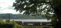 Running east from Cardross is 67009 on sleeper driver training run.<br><br>[Ewan Crawford&nbsp;25/05/2006]