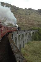 Crossing Glenfinnan Viaduct.<br><br>[Ewan Crawford&nbsp;28/05/2006]