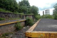 One of the disused loading bays in the closed Gushetfaulds Freightliner depot. CGU line for St Enoch was to the left.<br><br>[Ewan Crawford&nbsp;20/06/2006]